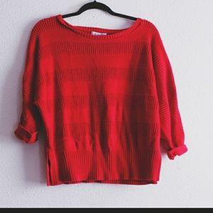 Liz Claiborne Red Sweater